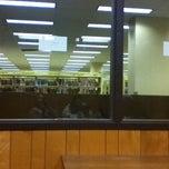 Photo taken at Ellender Memorial Library by Lauren B. on 5/4/2011