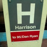 Photo taken at CTA - Harrison by Randy S. on 10/15/2011