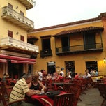 Photo taken at Plaza Santo Domingo by Andres S. on 6/24/2012