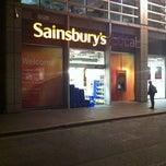 Photo taken at Sainsbury's Local by Sacha on 4/15/2011