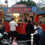 Photo taken at Little Red Wagon Corn Dogs by Amber C. on 1/31/2012