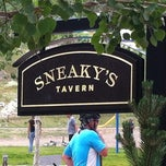 Photo taken at Sneaky's Tavern by Joshua M. on 7/14/2012