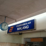 Photo taken at Stasiun Malang Kotabaru by Sonny T. on 6/30/2012