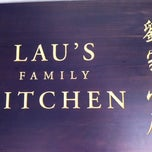 Photo taken at Lau's Family Kitchen by Tom K. on 2/9/2012
