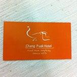 Photo taken at โรงแรมช้างเผือก Chang Peuk Hotel by 🎄🎅 Nu.Boom 🎅🎄 on 7/22/2012