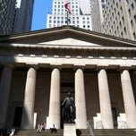 Photo taken at Federal Hall National Memorial by Lora R. on 6/25/2012
