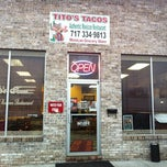 Photo taken at Tito's Tacos and Mexican Store by Sonya P. on 4/12/2011