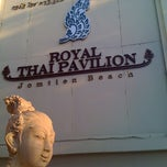 Photo taken at Royal Thai Pavilion Jomtien Boutique Resort by Raymond on 2/11/2012