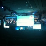 Photo taken at Cloudforce keynote w/ @benioff by Nancy R. on 3/15/2012