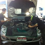 Photo taken at Nine Auto Service by Nine A. on 2/15/2012