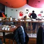 Photo taken at Village Café by Janette L. on 3/10/2012