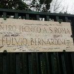 Photo taken at Centro Sportivo Fulvio Bernardini - AS Roma by RAFFAPAZ on 12/9/2011