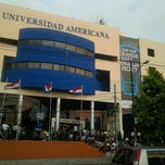 Photo taken at Universidad Americana by mmmaga x. on 3/14/2012