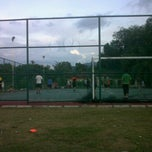 Photo taken at Gelanggang Futsal TDSI by Redh H. on 1/2/2012