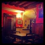 Photo taken at Il Grottino by Elena M. on 1/23/2012