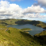 Photo taken at Miradouro da Lagoa do Fogo by Eduardo on 8/18/2011