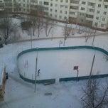 Photo taken at Ледовая коробка by JB on 1/22/2012