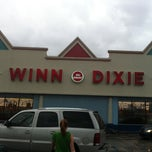 Photo taken at Winn-Dixie by Luke G. on 10/8/2011