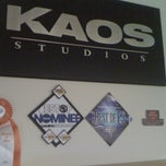 Photo taken at Kaos Studios: Dept. of Awesome by Sion V. on 4/30/2011