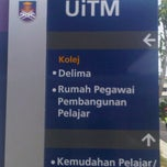 Photo taken at Kolej Delima Uitm Pulau Pinang by Saiful A. on 11/20/2011