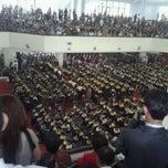 Photo taken at Universitas Sam Ratulangi (UNSRAT) by Evi K. on 11/28/2011