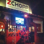 Photo taken at ZChopp by Jamie W. on 8/1/2012