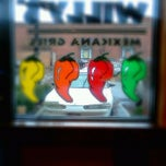 Photo taken at Willy's Mexicana Grill by chella k. on 12/7/2011