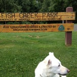 Photo taken at Kiwanis Fish Creek Park by Kitty M. on 8/21/2012