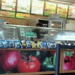 Photo taken at subway by Stephanie C. on 4/30/2011