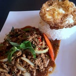Photo taken at Rice and Spice Thai Cuisine by Jeffrey S. on 6/16/2012