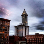 Photo taken at Smith Tower by Scott S. on 7/31/2012