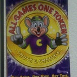 Photo taken at Chuck E. Cheese's by AJoy on 2/11/2012