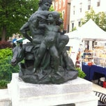Photo taken at War Statue by Justin H. on 5/4/2012