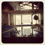 Photo taken at Pool @ Hyatt. by Ty C. on 12/7/2011