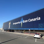 Photo taken at Aeropuerto de Gran Canaria (LPA) by María L. on 9/13/2012