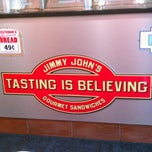 Photo taken at Jimmy John's by Kyle G. on 6/17/2012