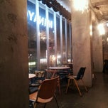 Photo taken at cafe de minayoshi by Jiyoung P. on 1/1/2012
