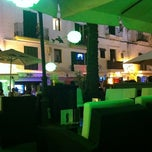 Photo taken at Space Bar ibiza by Oliver on 7/12/2011