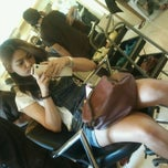 Photo taken at Heaven's Beauty Salon & Spa by Jasz G. on 1/7/2012