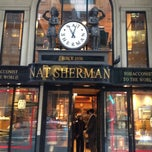 Photo taken at Nat Sherman by Nik B. on 5/2/2012