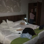 Photo taken at Hotel Opera Madrid by Justin M. on 5/4/2012