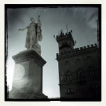 Photo taken at Palazzo Di Governo San Marino by Gemmani S. on 8/19/2012