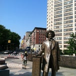 Photo taken at Frederick Douglass Circle by John P. on 5/29/2012