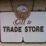 Photo taken at Sutter's Fort Trade Store by Brandon K. on 3/24/2012