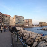 Photo taken at Lungomare di Napoli by Antonio P. on 4/25/2012