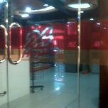 Photo taken at Bright Food and Drink 24 Hours, SPBU Pertamina by imel j. on 11/7/2011