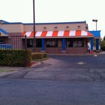 Photo taken at Whataburger by Alonso G. on 9/13/2011