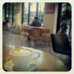 Photo taken at Ch'ava Café by Zach F. on 5/31/2012