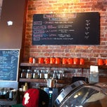 Photo taken at Cafe Grumpy by Stephanie F. on 4/28/2012