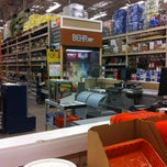 Photo taken at The Home Depot by Chris G. on 3/18/2012